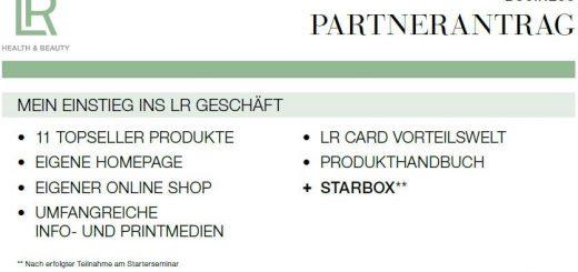 Bild zum Thema LR Partnerantrag online. - Bildquelle: LR Health & Beauty Systems.