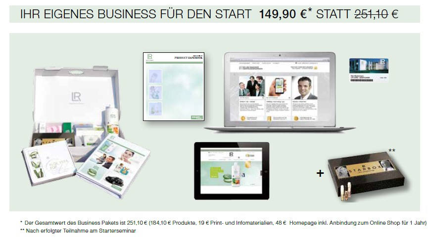 Bild zum Thema LR Partnerantrag PDF. - Bildquelle: LR Health & Beauty Systems.