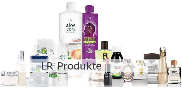 Bild zu LR Produkten.