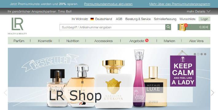 Bild zu LR Shop.