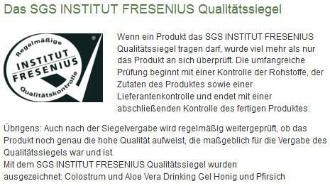 Bild zu LR Kunde werden und Fresenius Sigel.