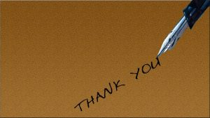 Bild zu LR Newsletter Dankeschön.