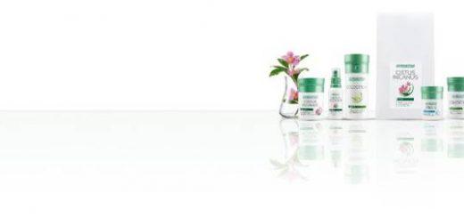 Bild mit Colostrum flüssig Liquids und Colostrum Kapseln aus dem LR Shop.