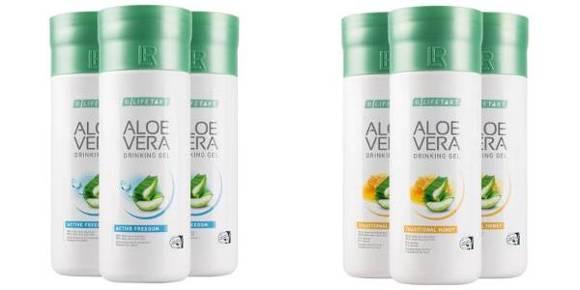Kategorie-Bild mit Aloe Vera Drinking Gel Honey (Honig) LR Drinks preiswert online kaufen.