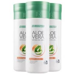 Bild LR Aloe Vera Drinking Gel Pfirsich Geschmack 3er Set.