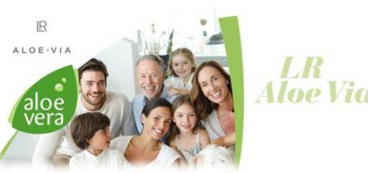 Bild mit glücklichen Menschen die LR Aloe Vera Produkte aus dem LR World Shop genutzt haben.