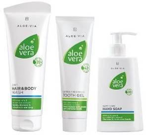 Bild Aloe Via Hygiene Set. Jetzt LR Aloe Vera Produkte preiswert kaufen.
