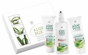 Bild mit Aloe Vera Box aus dem LR World Shop.
